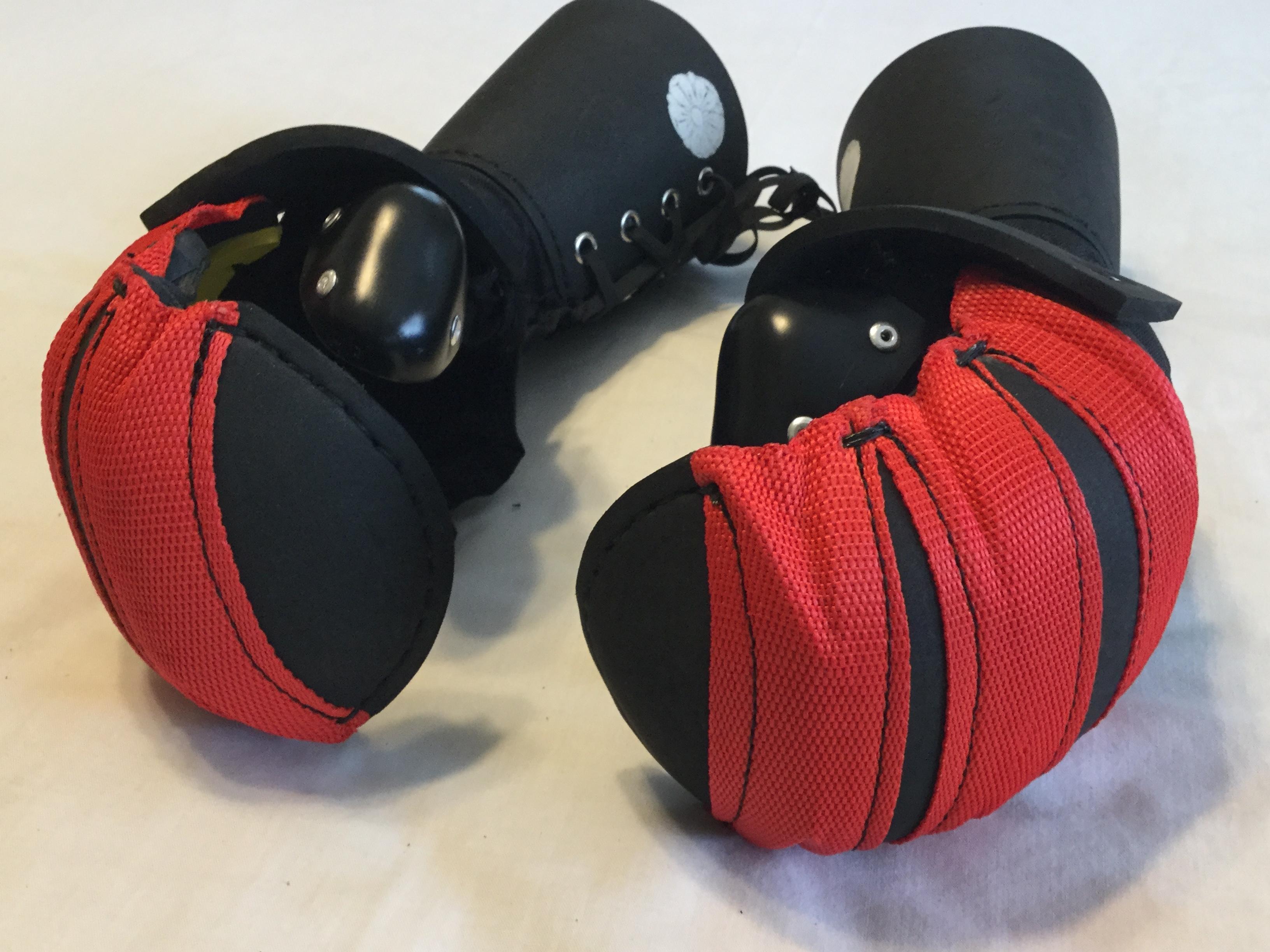 Black Stitch Red Nylon 4