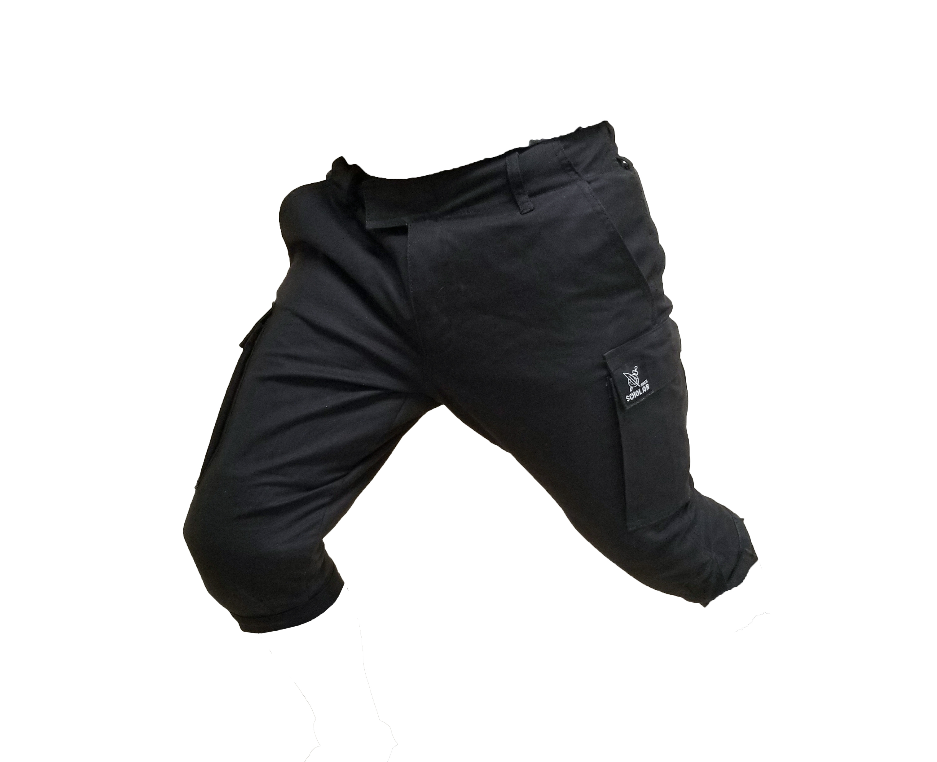 single color trouser black